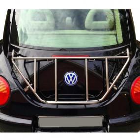 Porte-bagages sur-mesure chromé pour Volkswagen New Beetle coupé