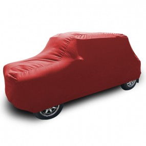 Bâche protection Austin Mini en Jersey (Coverlux) - Rouge