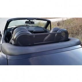Roll-Bar noir mat avec filet coupe vent pour Bmw Z3 cabriolet