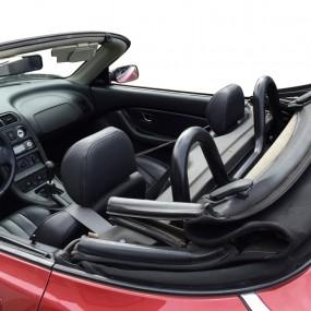 Roll-bar noir mat pour cabriolet MG F/TF