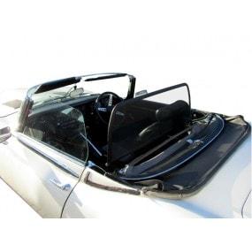 Windschott, filet saute-vent noir Jaguar type E, XK E, E V12 cabriolet