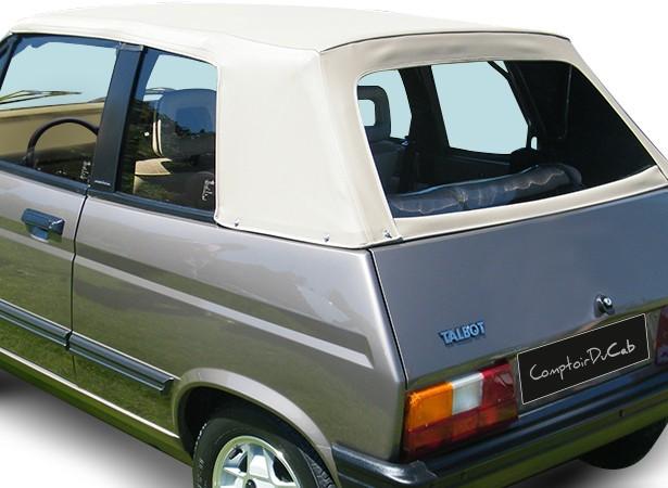Capote Talbot Samba cabriolet en Vinyle GCL2