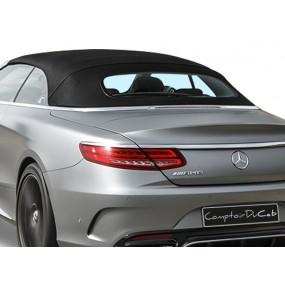 Capote Mercedes Classe S cabriolet A217 en Alpaga Twillfast® TWRPC