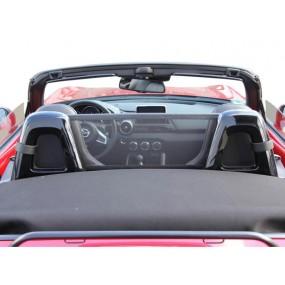 Windschott, filet saute-vent noir Mazda MX5 ND cabriolet et coupé