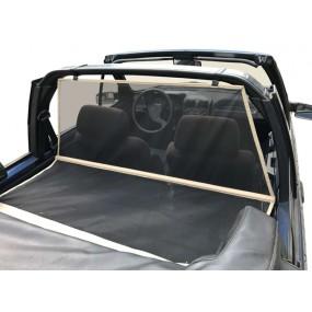 Windschott, filet saute-vent beige Peugeot 205 cabriolet