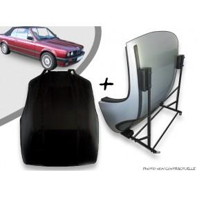 Kit housse de hard top pour BMW E30 + chariot de rangement
