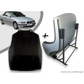 Kit housse de hard top pour BMW E36 + chariot de rangement