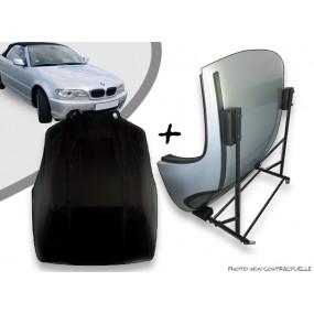 Kit housse de hard top pour BMW E46 + chariot de rangement