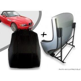 Kit housse de hard top pour BMW Z3 + chariot de rangement