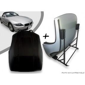 Kit housse de hard top pour BMW Z4 + chariot de rangement