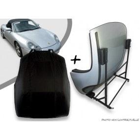 Kit housse de hard top pour Porsche Boxster 986 + chariot de rangement