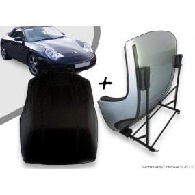Kit housse de hard top pour Porsche 996 + chariot de rangement
