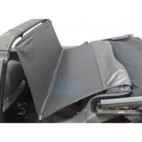Windschott, filet saute-vent noir Volkswagen Golf 1 cabriolet
