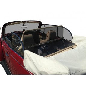 Filet coupe-vent, anti-remous beige, Windschott Volkswagen Coccinelle 1303 cabriolet