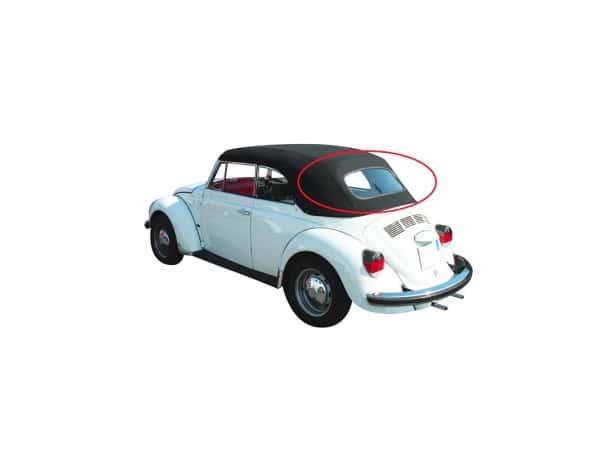 Lunette arrière verre pour capote Volkswagen Coccinelle 1302/1303/1500