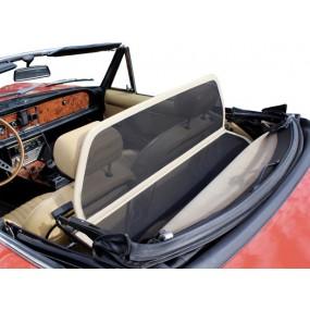 Filet coupe-vent beige, Windschott Fiat 124 CS1 cabriolet