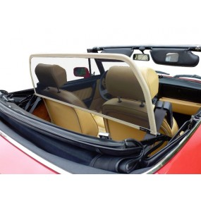 Filet coupe-vent - Windschott de couleur beige Alfa Romeo Spider Duetto (1966-1969) cabriolet