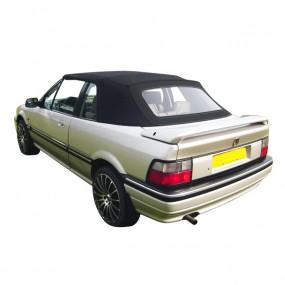 Capote noire pour Rover 214-216 cabriolet en Vinyle Grain Américain