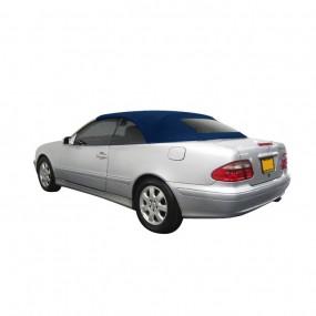 Capote Mercedes CLK cabriolet (type A208) en Alpaga bleu Twillfast® II