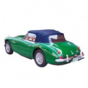 Capote Austin Healey 3000 BJ8 cabriolet en Alpaga bleu foncé