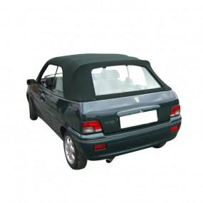 Capote noire pour Rover 111 cabriolet en Vinyle