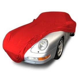 Bâche protection intérieure sur-mesure Porsche 993 en Jersey Coverlux - rouge