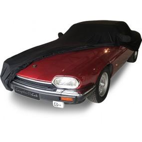 Bâche protection intérieure sur-mesure Jaguar XJS en Jersey Coverlux - noire