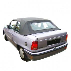 Capote Opel Kadett E cabriolet en vinyle noir 5 boucles sans doublures