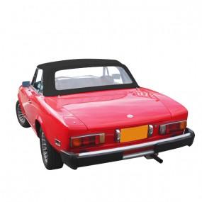 Capote Fiat 124 CS1 noir (1400-1600-1800) cabriolet en Alpaga Stayfast®