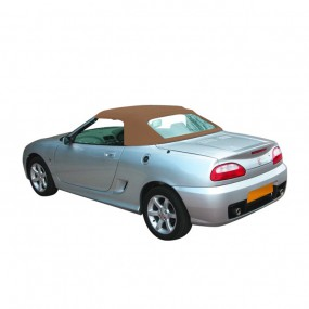 Capote MG F, MG TF cabriolet en Alpaga Stayfast® beige foncé