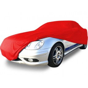 Bâche protection intérieure sur-mesure Mercedes SLK R170 en Jersey Coverlux - rouge