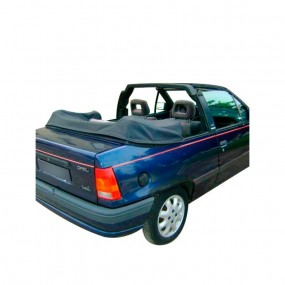 Couvre-capote en Vinyle bleu Opel Kadett E cabriolet