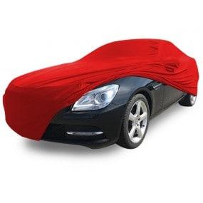 Bâche protection intérieure sur-mesure Mercedes SLK R172 en Jersey Coverlux - rouge