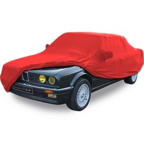 Bâche protection intérieure sur-mesure BMW E30 en Jersey Coverlux - rouge