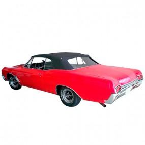 Capote noire pour Buick, Chevrolet, Pontiac et Oldsmobile cabriolet en vinyle