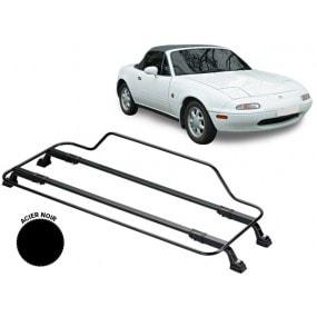 Porte-bagages AZUR pour Mazda MX5 NA en Acier noir