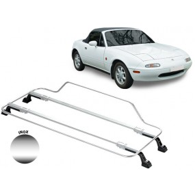 Porte-bagages AZUR pour Mazda MX5 NA en Inox