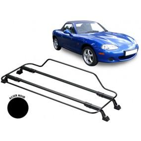 Porte-bagages AZUR pour Mazda MX5 NB en Acier noir