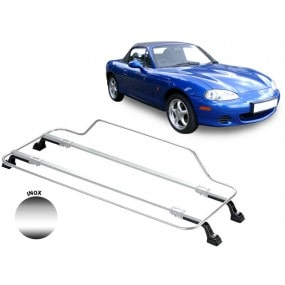 Porte-bagages AZUR pour Mazda MX5 NB en Inox
