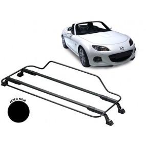 Porte-bagages AZUR pour Mazda MX5 NC en Acier noir