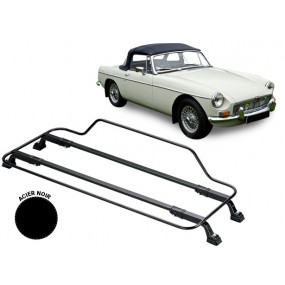 Porte-bagages AZUR pour MG B (1962-1963) en Acier noir
