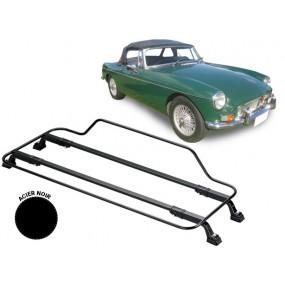Porte-bagages AZUR pour MG B/C (1963-1970) en Acier noir