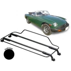Porte-bagages AZUR pour MG B (1971-1976) en Acier noir