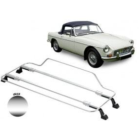 Porte-bagages AZUR pour MG B (1962-1963) en Inox