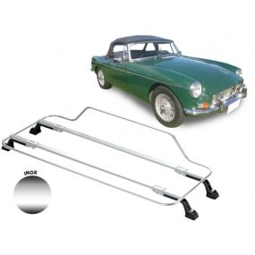 Porte-bagages AZUR pour MG B/C (1963-1970) en Inox