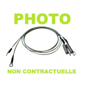 Câbles latéraux de tension pour Pontiac GTO cabriolet (66-67)