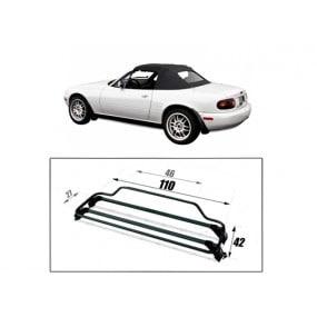 Porte-bagages pour Mazda MX5 NB Riviera finition noir