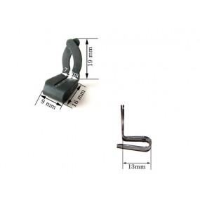 Agrafe pour fixer les panneaux de portes (19mm)