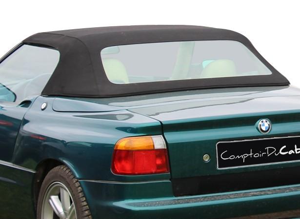 Capotes auto BMW Z1 cabriolet en Alpaga Sonnenland avec lunette arriere en PVC
