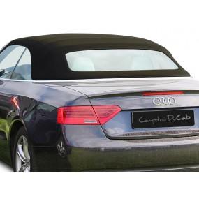 Capote Audi A5 8F7 cabriolet en Alpaga Sonnenland A5B avec lunette arrière en verre dégivrante